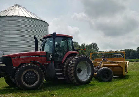 grading and leveling for precision ag